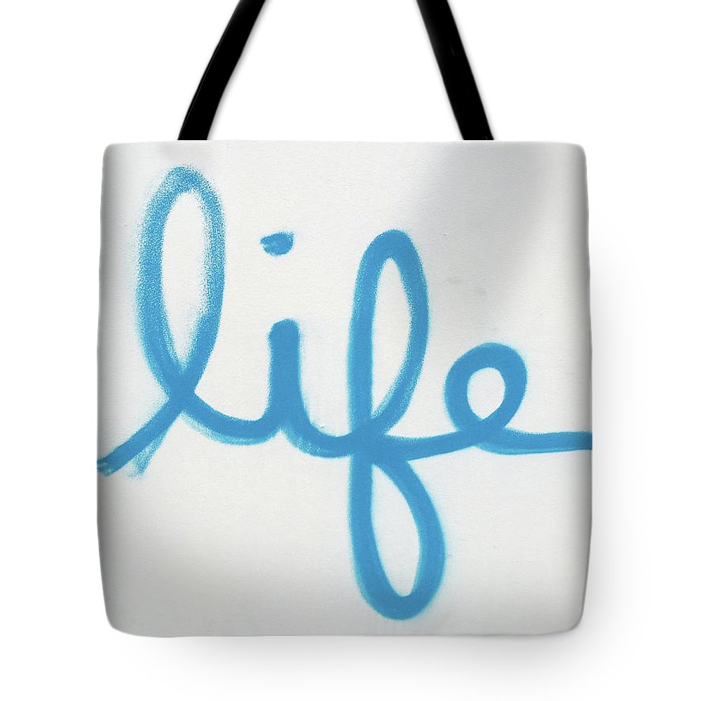 Life Tote Bag featuring the photograph Life Quote by Art Block Collections