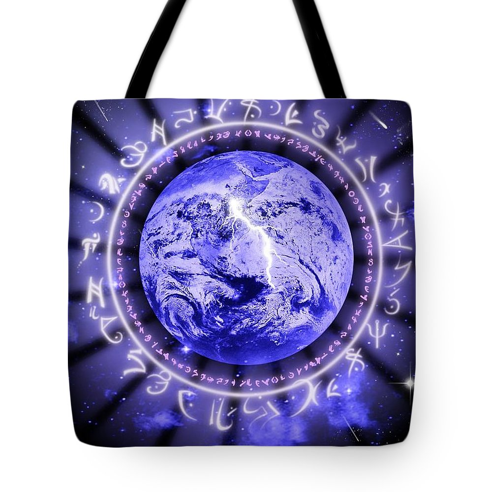 Life Tote Bag featuring the digital art Life by Rhonda Barrett