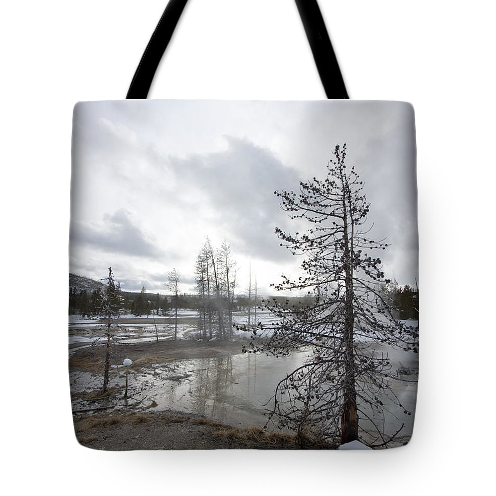 Landscape Tote Bag featuring the photograph Lifeless by Mary Haber