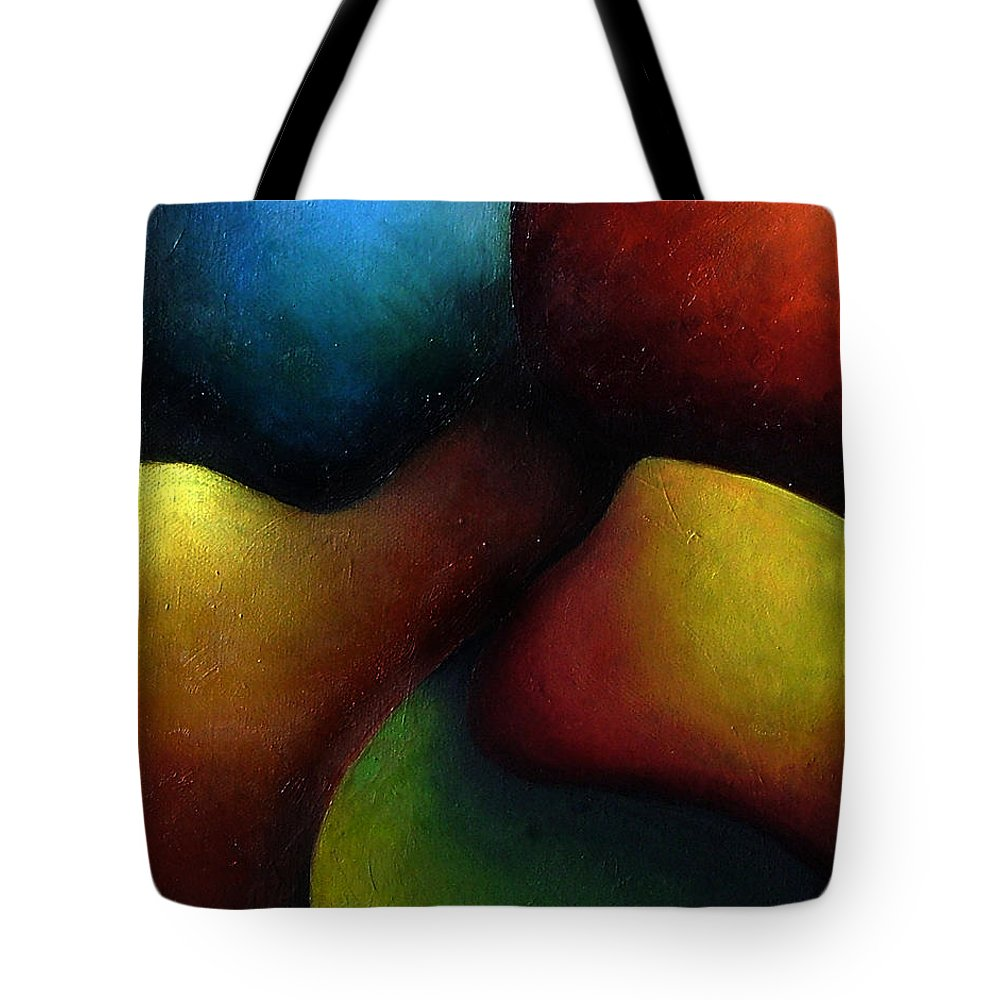 Fruit Tote Bag featuring the painting Life's Fruit by Elizabeth Lisy Figueroa
