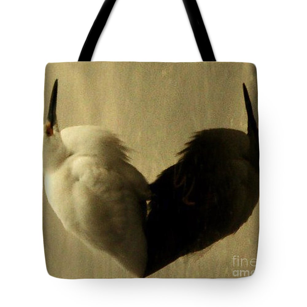 Hearts Tote Bag featuring the photograph Light And Shadow by Daniele Smith