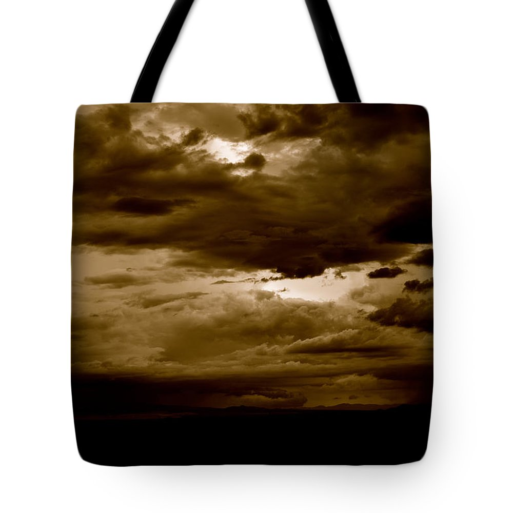 Sky Tote Bag featuring the photograph Light by Melisa Elliott