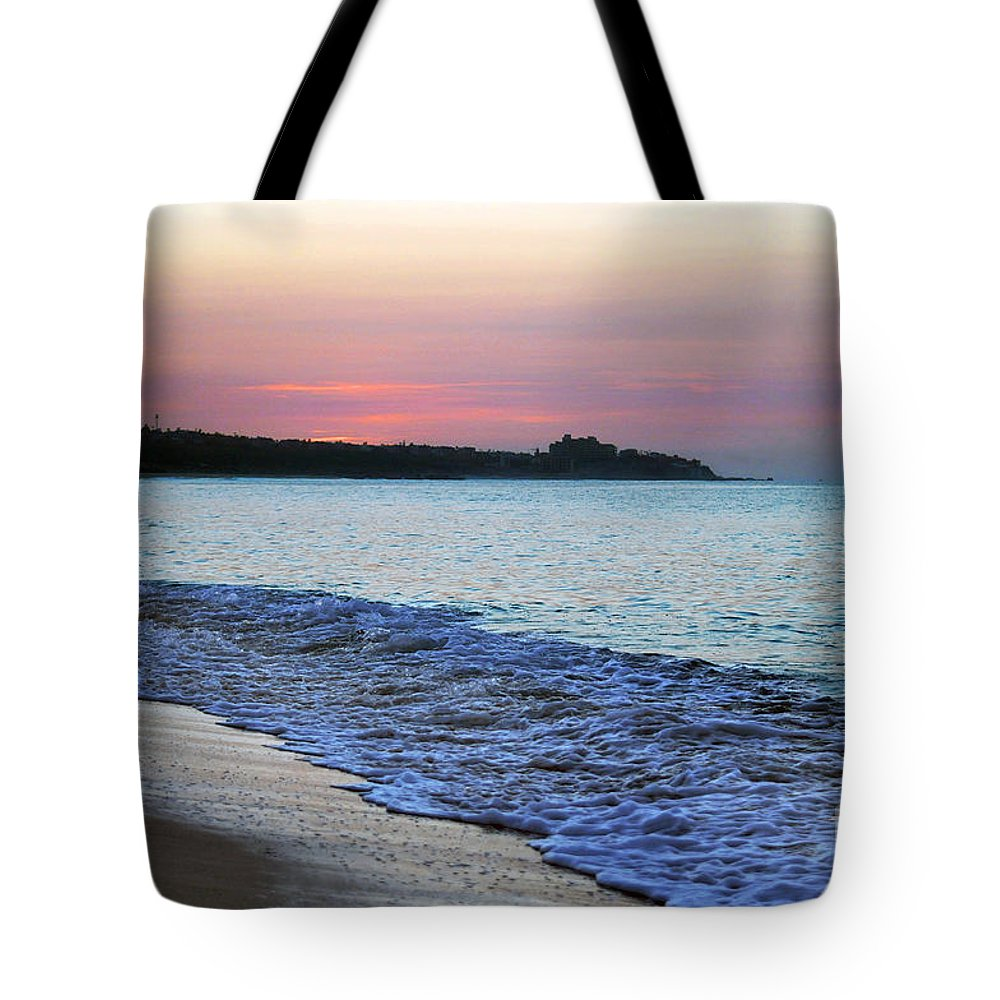 Tote Bag featuring the photograph Light Of Day by Dan Holm