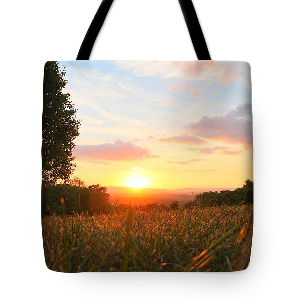 Sunset Tote Bag featuring the photograph Light Of Lights by Mitch Cat