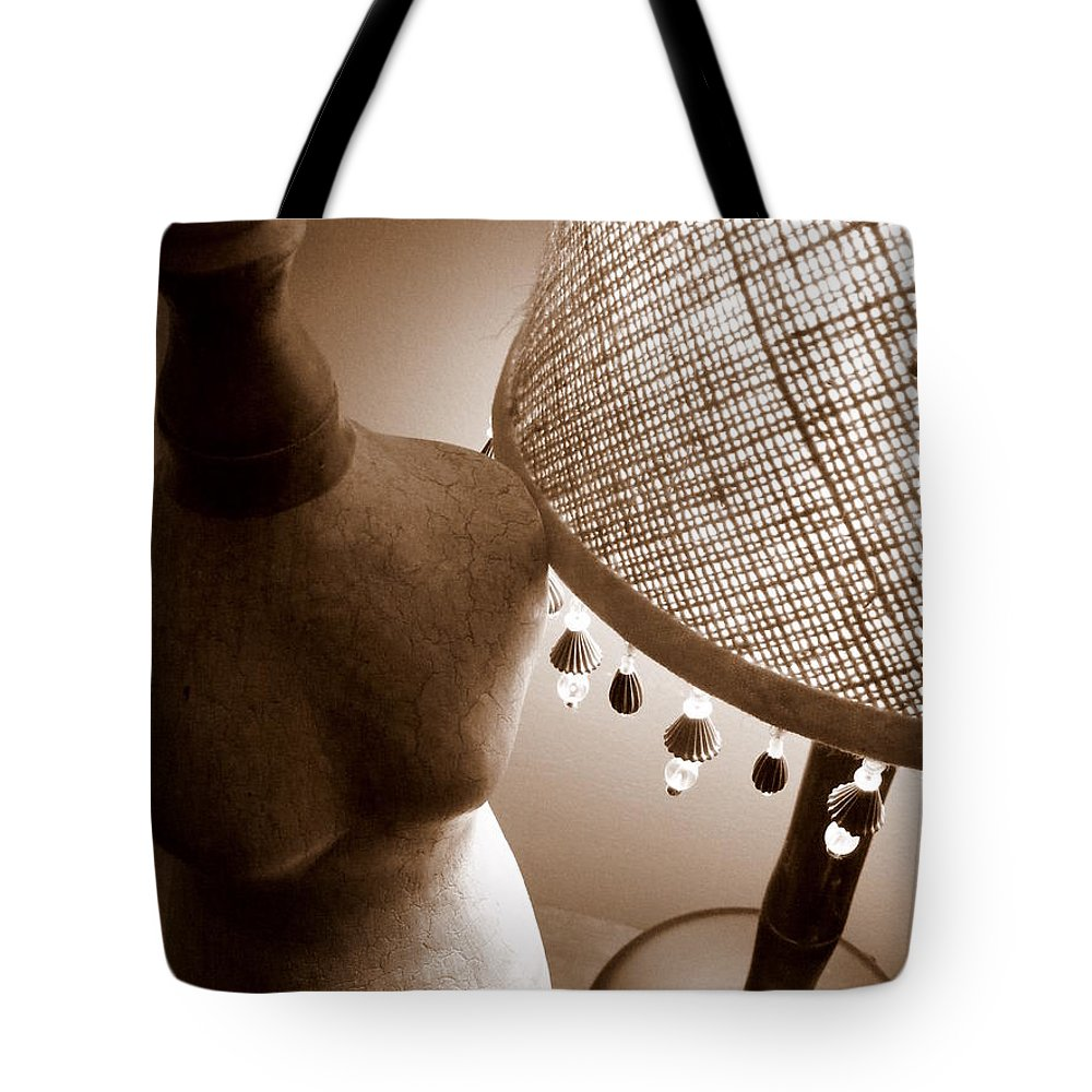 Light Of My Life Tote Bag featuring the photograph Light Of My Life by Edward Smith