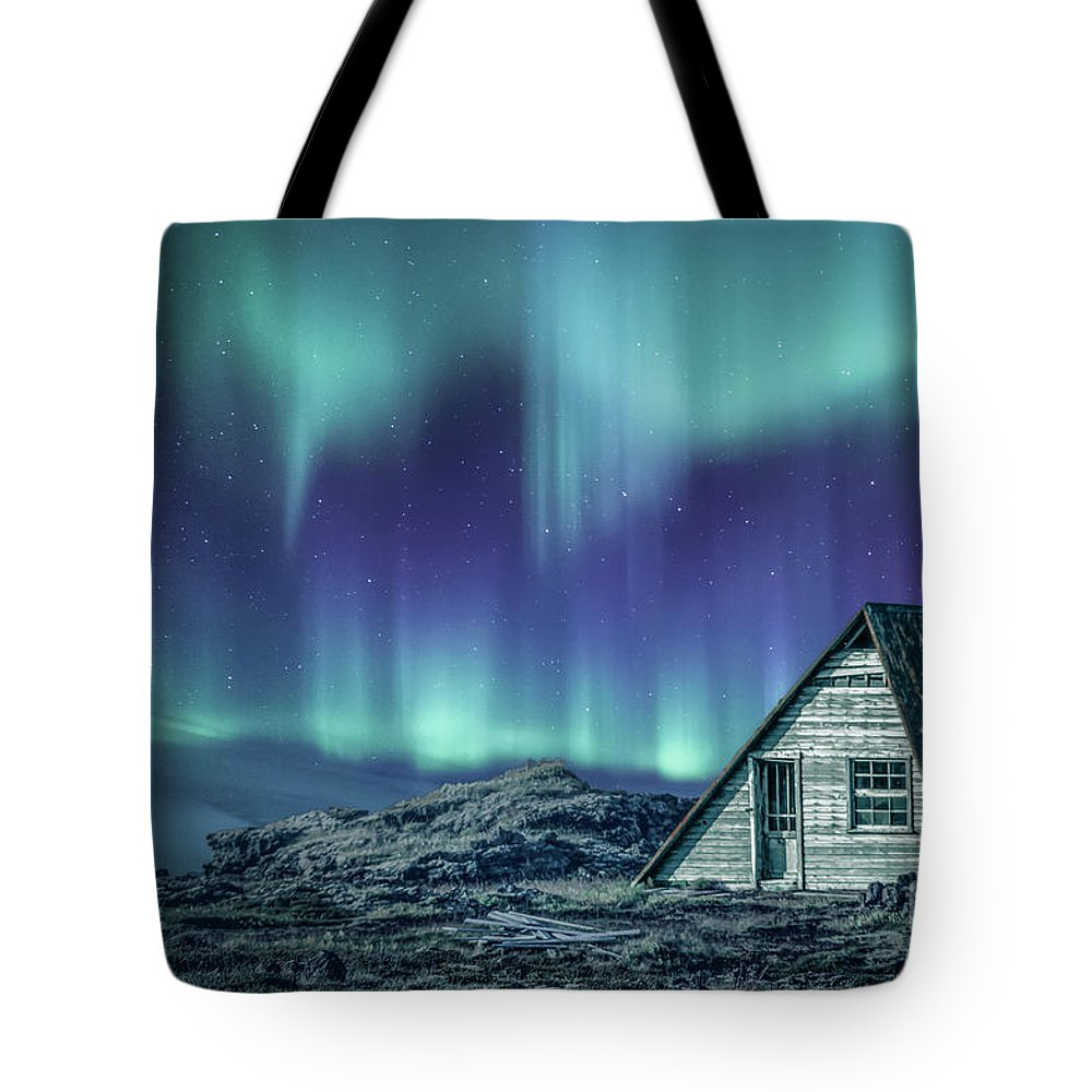 Aurora Tote Bag featuring the photograph Light Up My Darkness by Evelina Kremsdorf