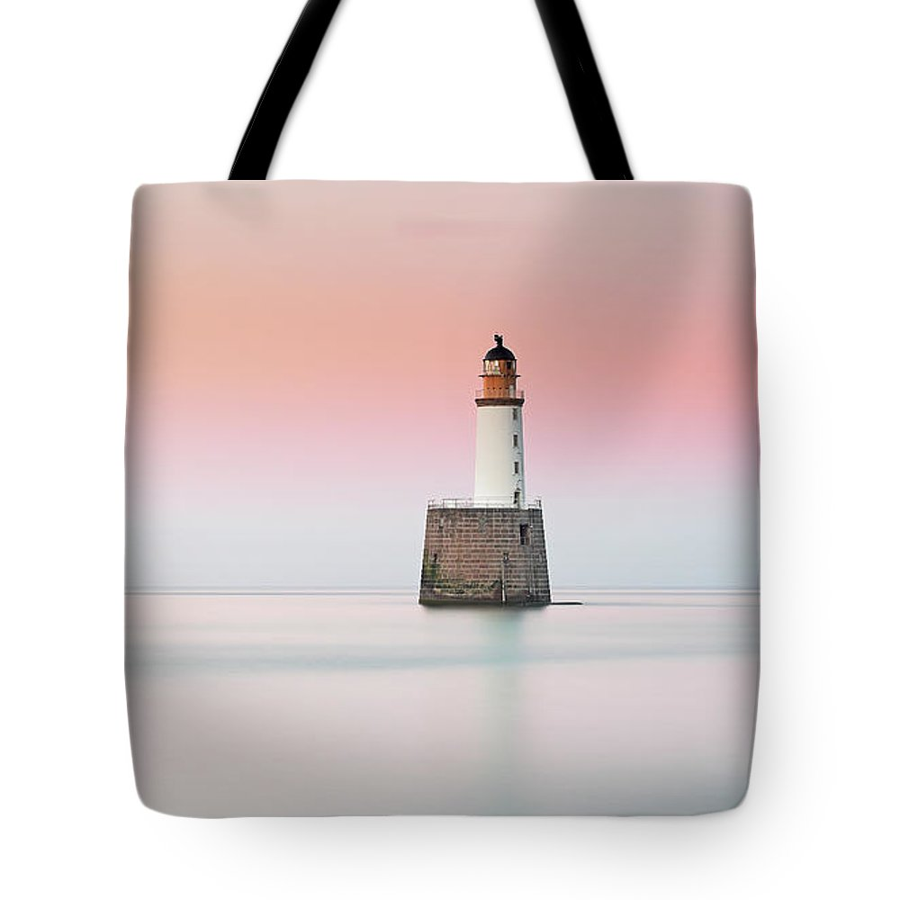 Rattray Head Lighthouse Tote Bag featuring the photograph Lighthouse Hues by Grant Glendinning