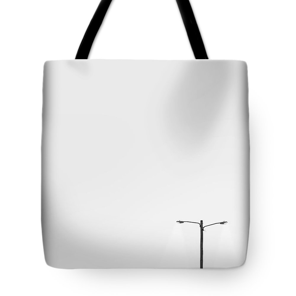 Lamp Tote Bag featuring the photograph Lighting The Way by Scott Norris