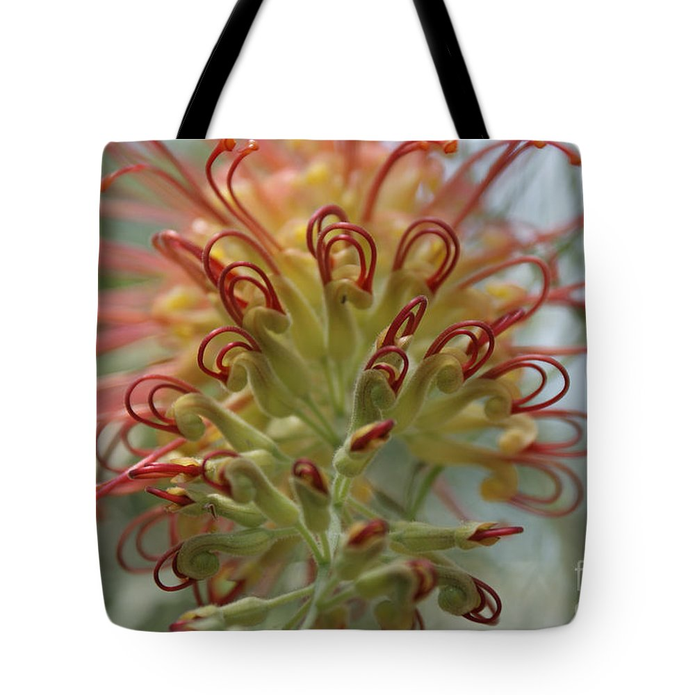Floral Tote Bag featuring the photograph Like Stems Of A Cherry by Shelley Jones
