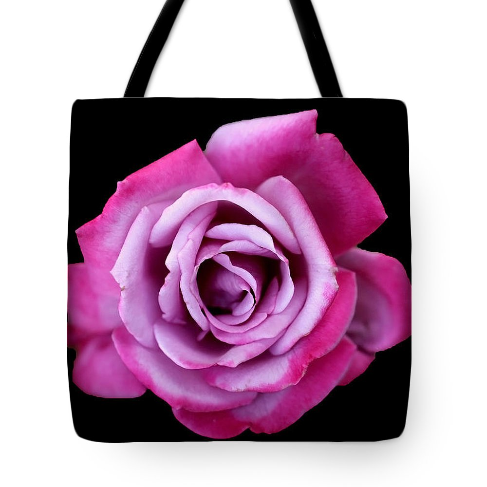 Rose Tote Bag featuring the photograph Lilac Rose by Vanessa Thomas