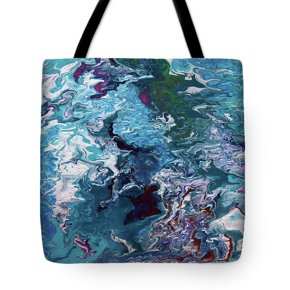 Fusionart Tote Bag featuring the painting Lilies by Ralph White