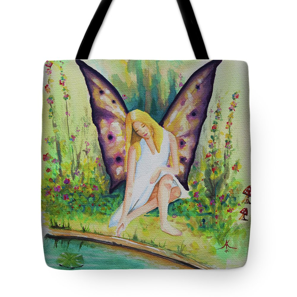Wall Art Hand Painted Painting Paint Brushed Original Handcrafted Professional Beautiful Canvas Print Framed Acrylic Metal Wood Prints Posters Home The Car Lifestyle Tote Bag Stationary Beach Towel Tiles Greeting Cards Spiral Notebooks Notebooks Carry All Pouches Portable Battery Phone Case Charger Yoga Mats Cops Curtains Shower Down Towels T Shirts One Z's Coffee Mugs Greeting Cards Holiday Cards Birthday Alfredo Tena Alfred Tote Bag featuring the painting Lilly by Alfredo Tena