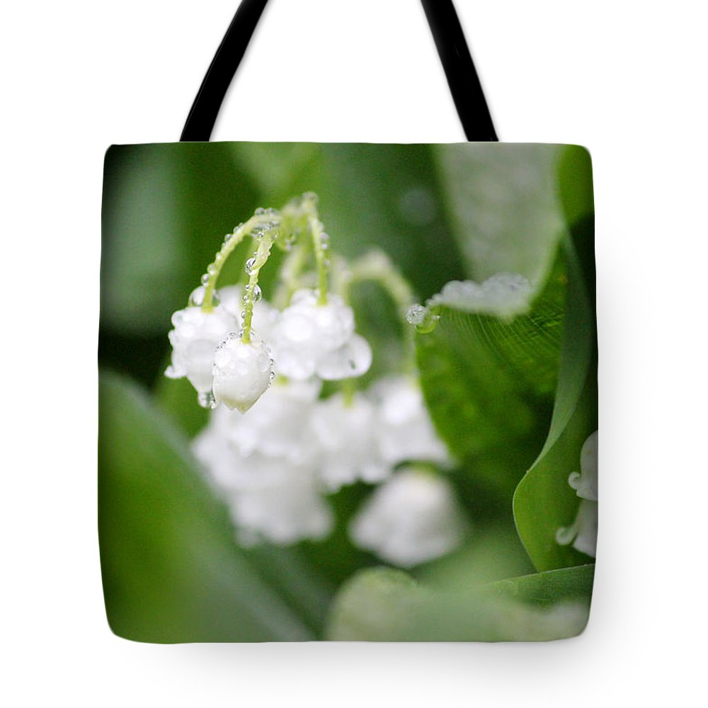 Lilly Tote Bag featuring the photograph Lilly Of The Valley by Brook Burling