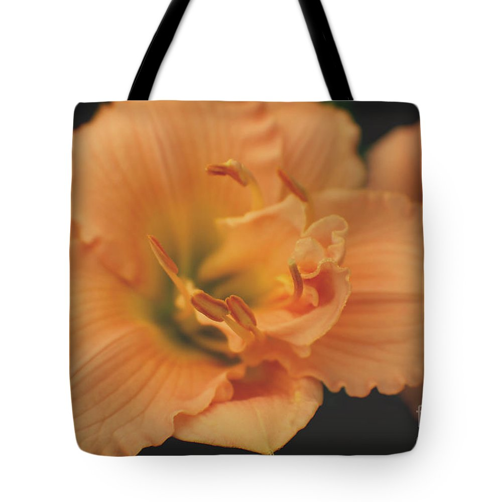 Flowers Tote Bag featuring the photograph Lily by Ella Kaye Dickey