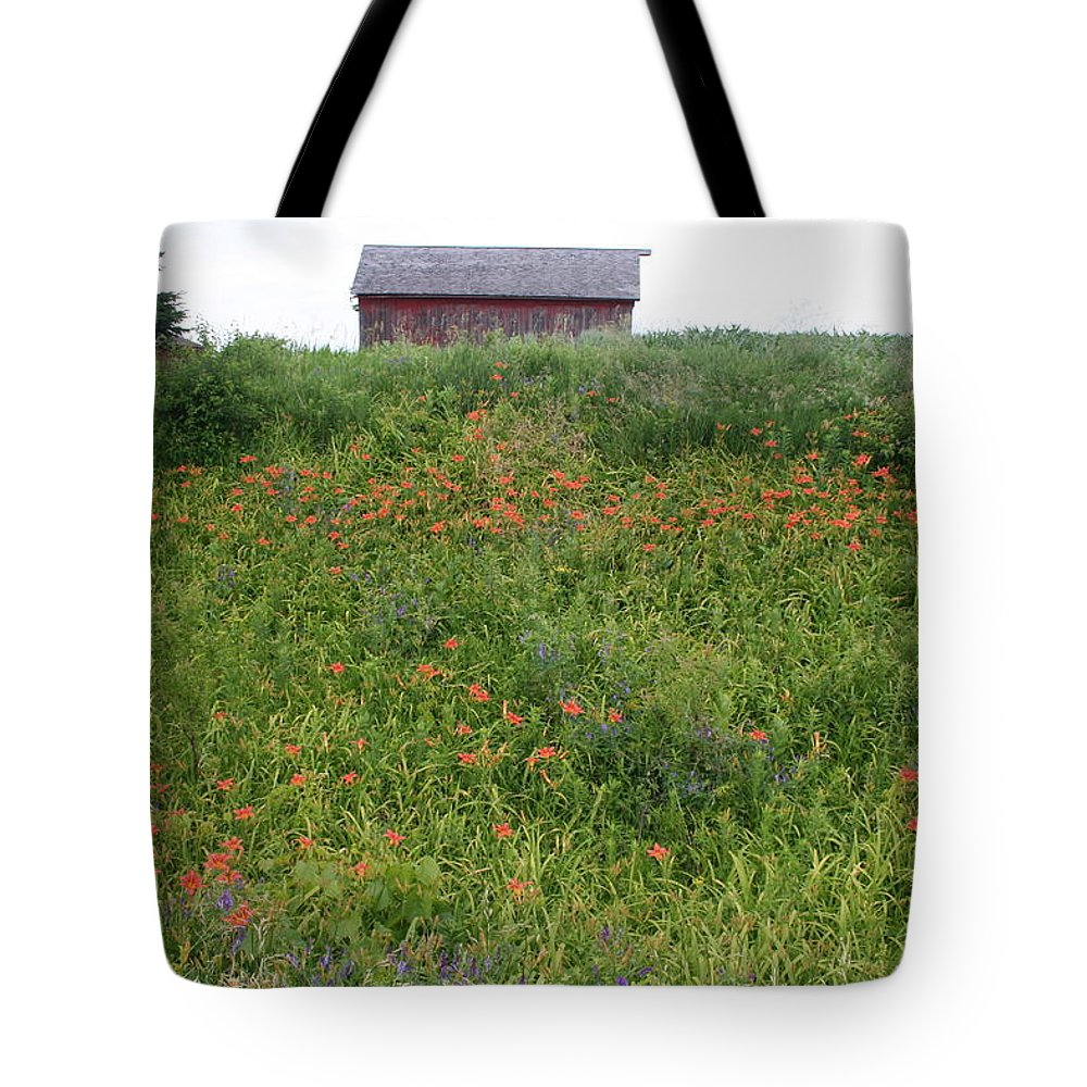 Lily Layers Tote Bag featuring the photograph Lily Layers by Dylan Punke