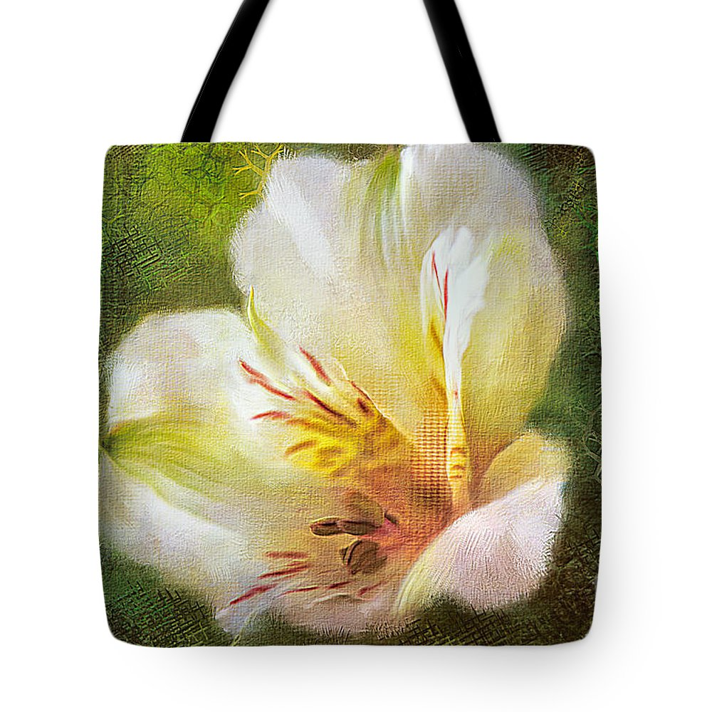 Lily Of The Incas Tote Bags