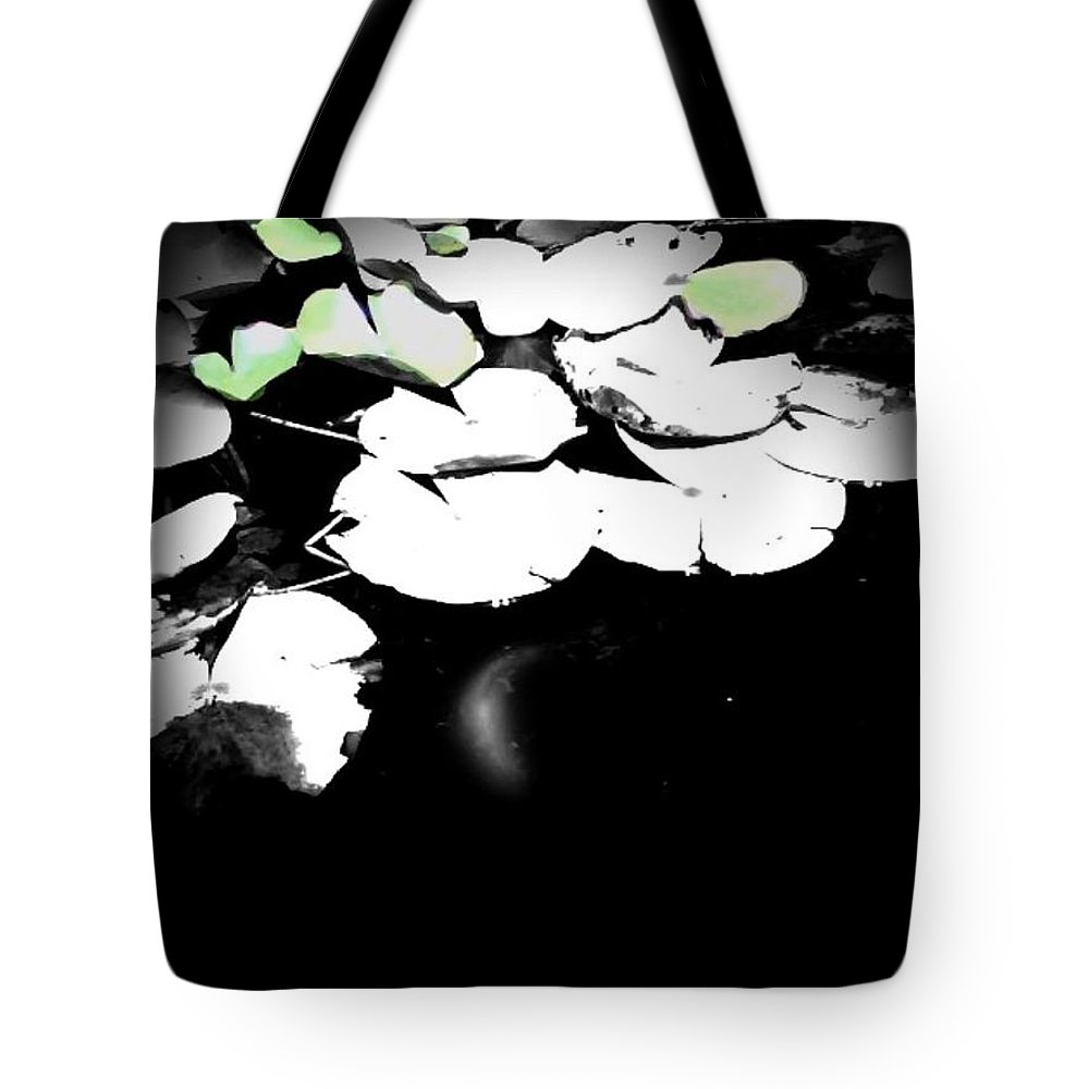 Water Tote Bag featuring the photograph Lily Pad by Charleen Treasures