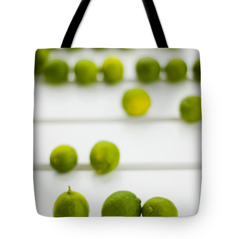 Green Tote Bag featuring the photograph Lime Green by Skip Hunt