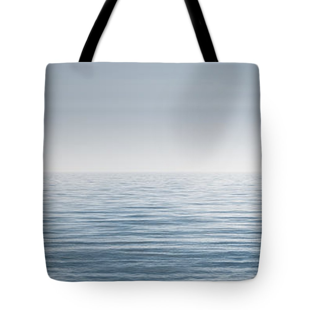 Water Tote Bag featuring the photograph Limitless by Scott Norris