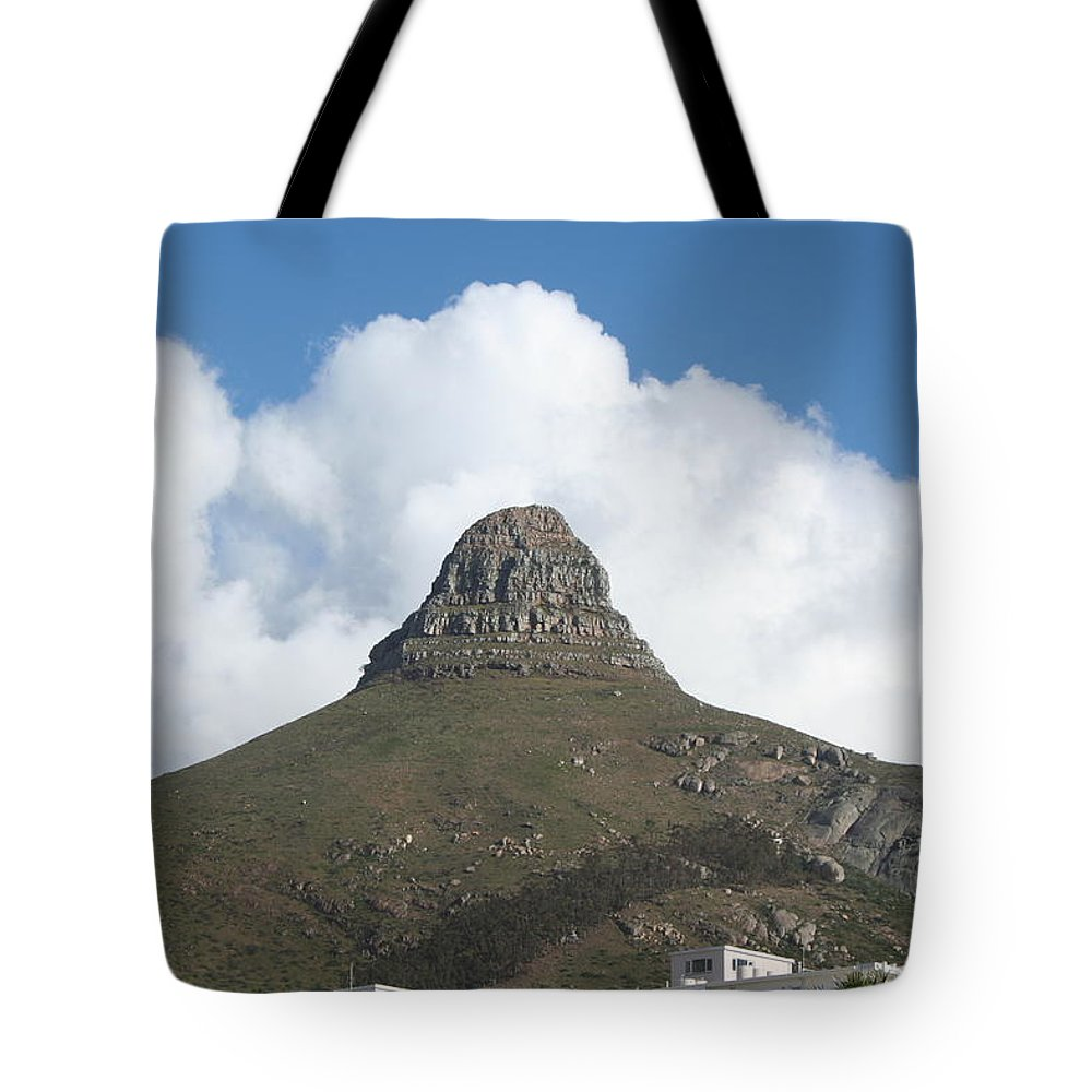 Mountain Tote Bag featuring the photograph Lion's Head Cape Town by Eliyahu Shear