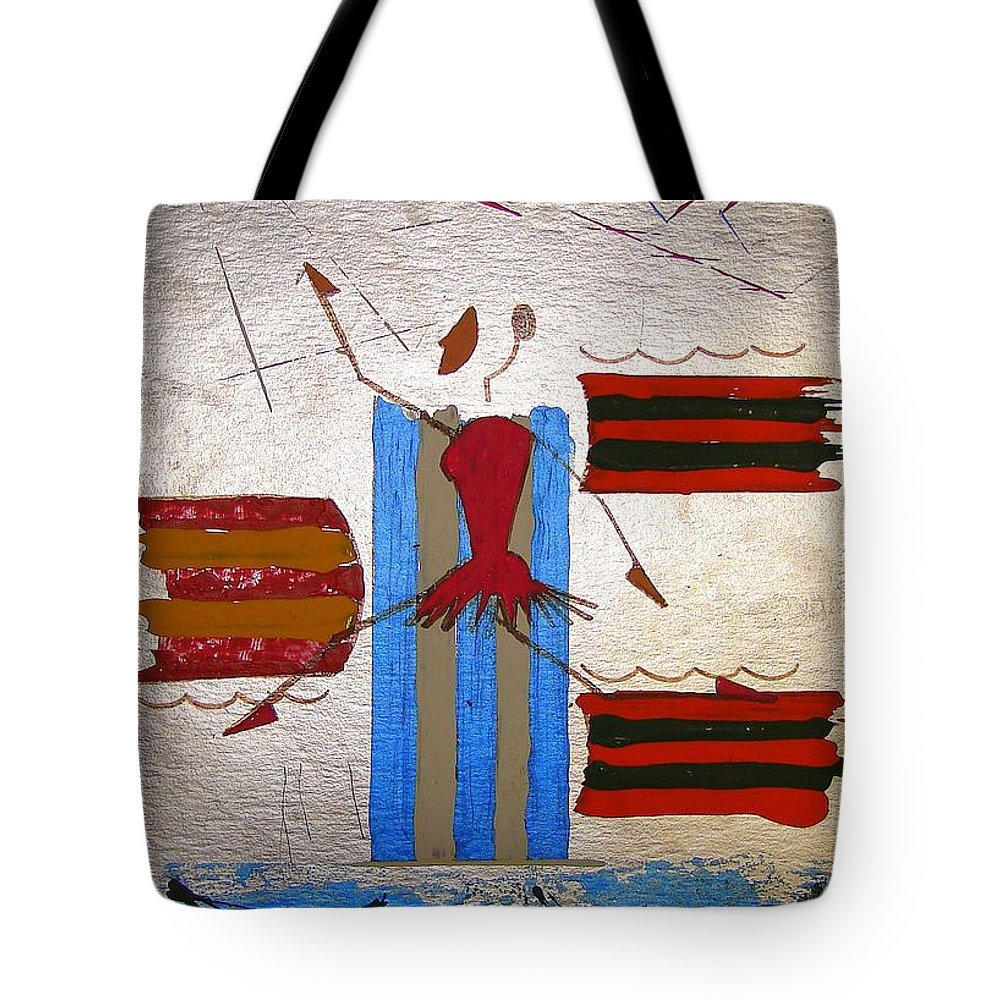 Ballerina Tote Bag featuring the mixed media Little Ballerina by J R Seymour