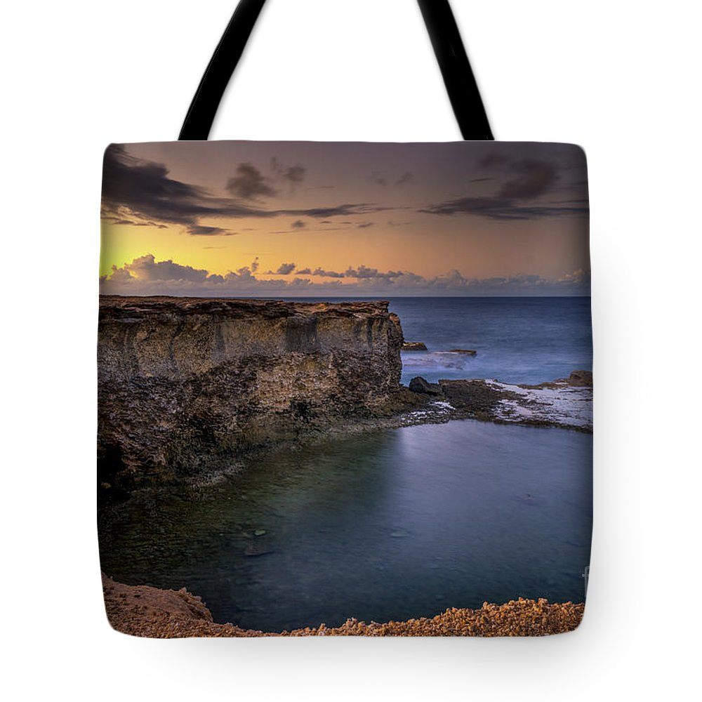 2017 Tote Bag featuring the photograph Little Bay North At 530 by Hugh Walker