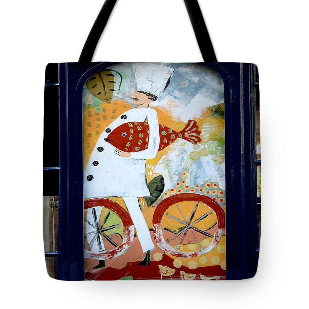 Color Photograph Tote Bag featuring the photograph Little Chef #2 by Dan Albright