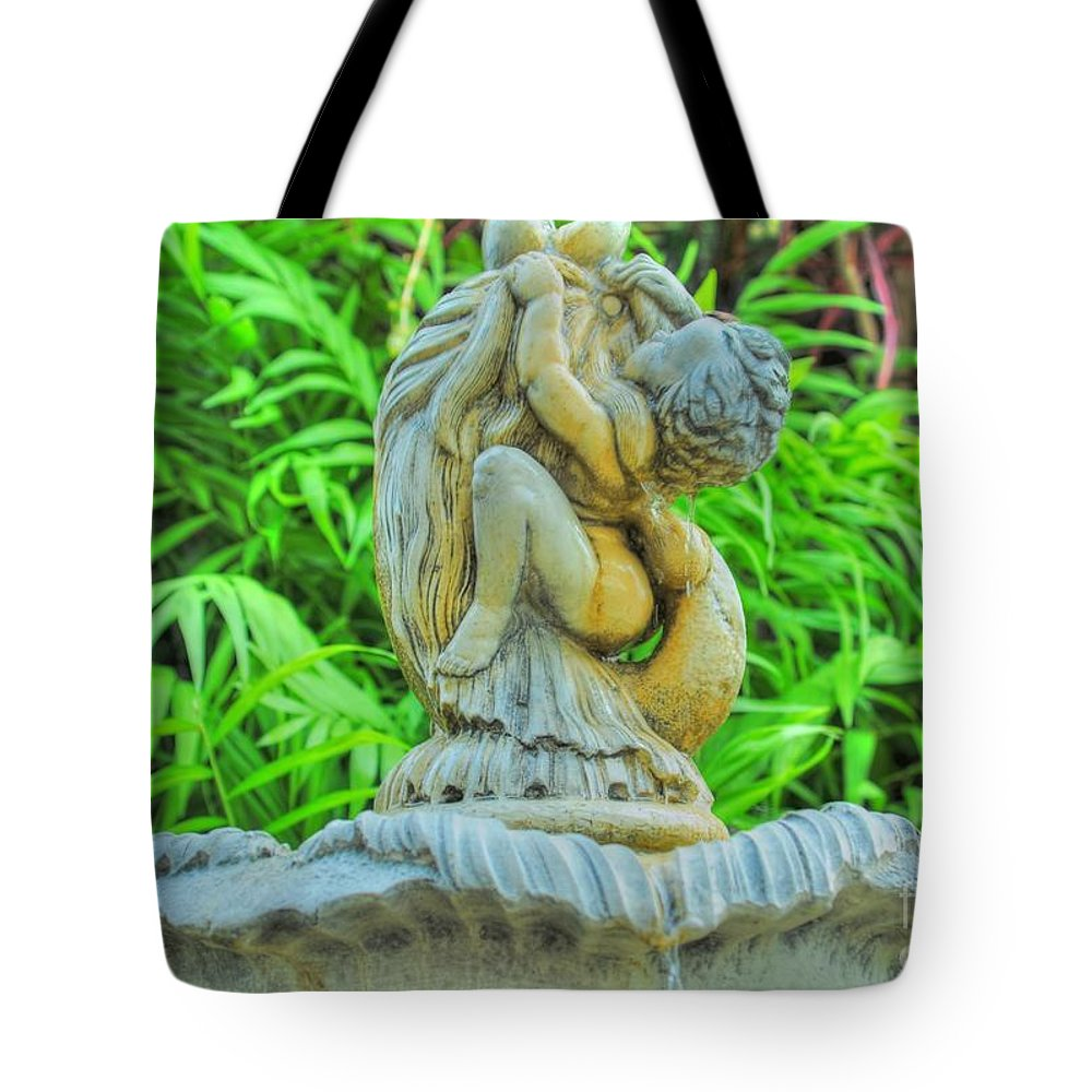 Cherub Tote Bag featuring the photograph Little Cherub by Kathleen Struckle