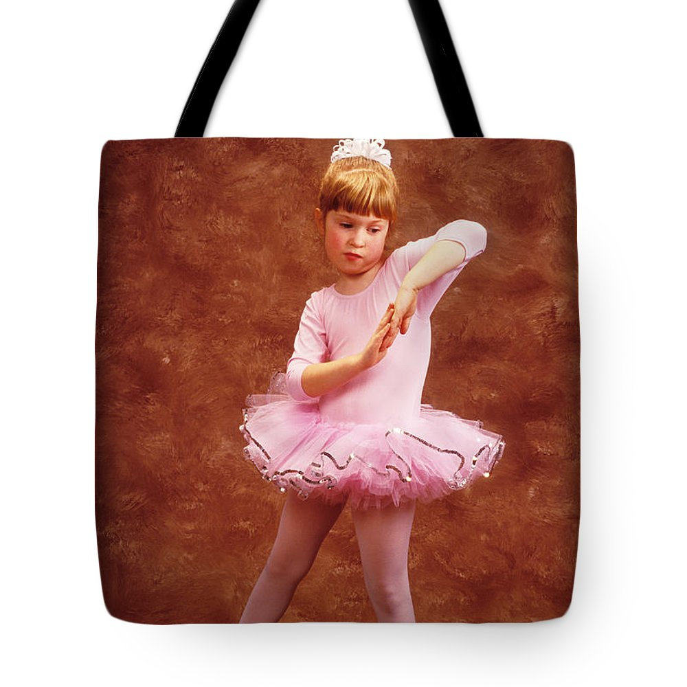 Dancer Tote Bag featuring the photograph Little Dancer by Garry Gay