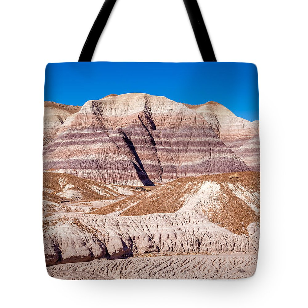 Tote Bag featuring the photograph Little Painted Desert #5 by Jon Manjeot