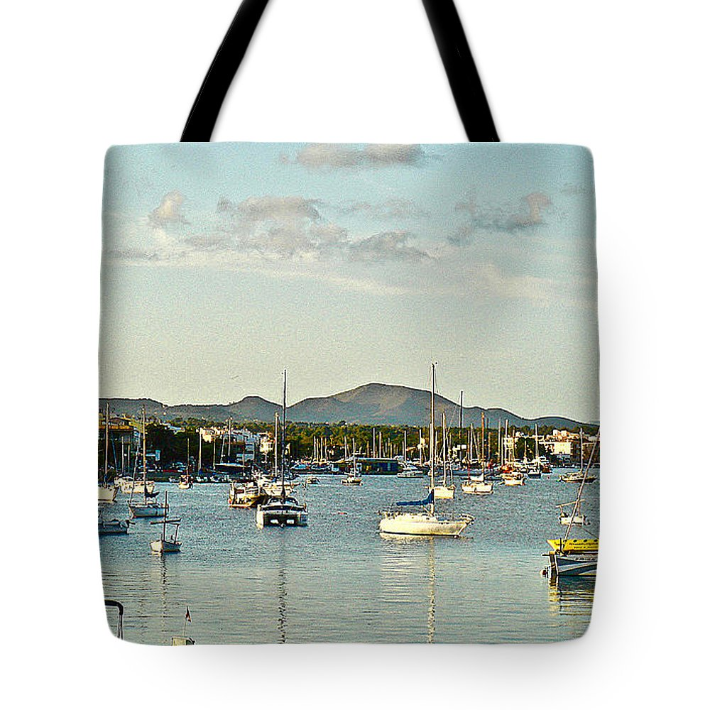 Boats Tote Bag featuring the photograph Living Near The Coast by Clive Littin