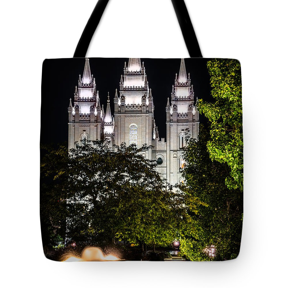 Living Water Tote Bag featuring the photograph Living Water by Tayne Hunsaker