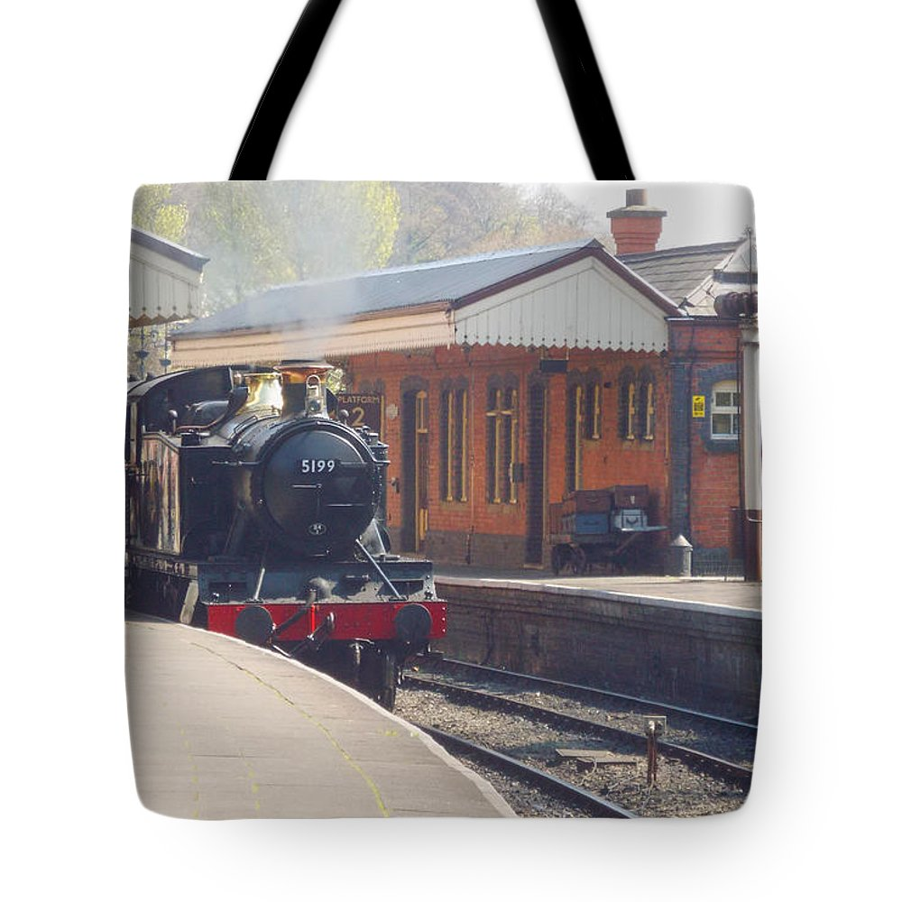 Llangollen Tote Bag featuring the photograph Llangollen 5199 by Brainwave Pictures