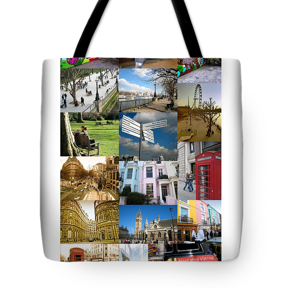 London Tote Bag featuring the photograph London by Madeline Ellis