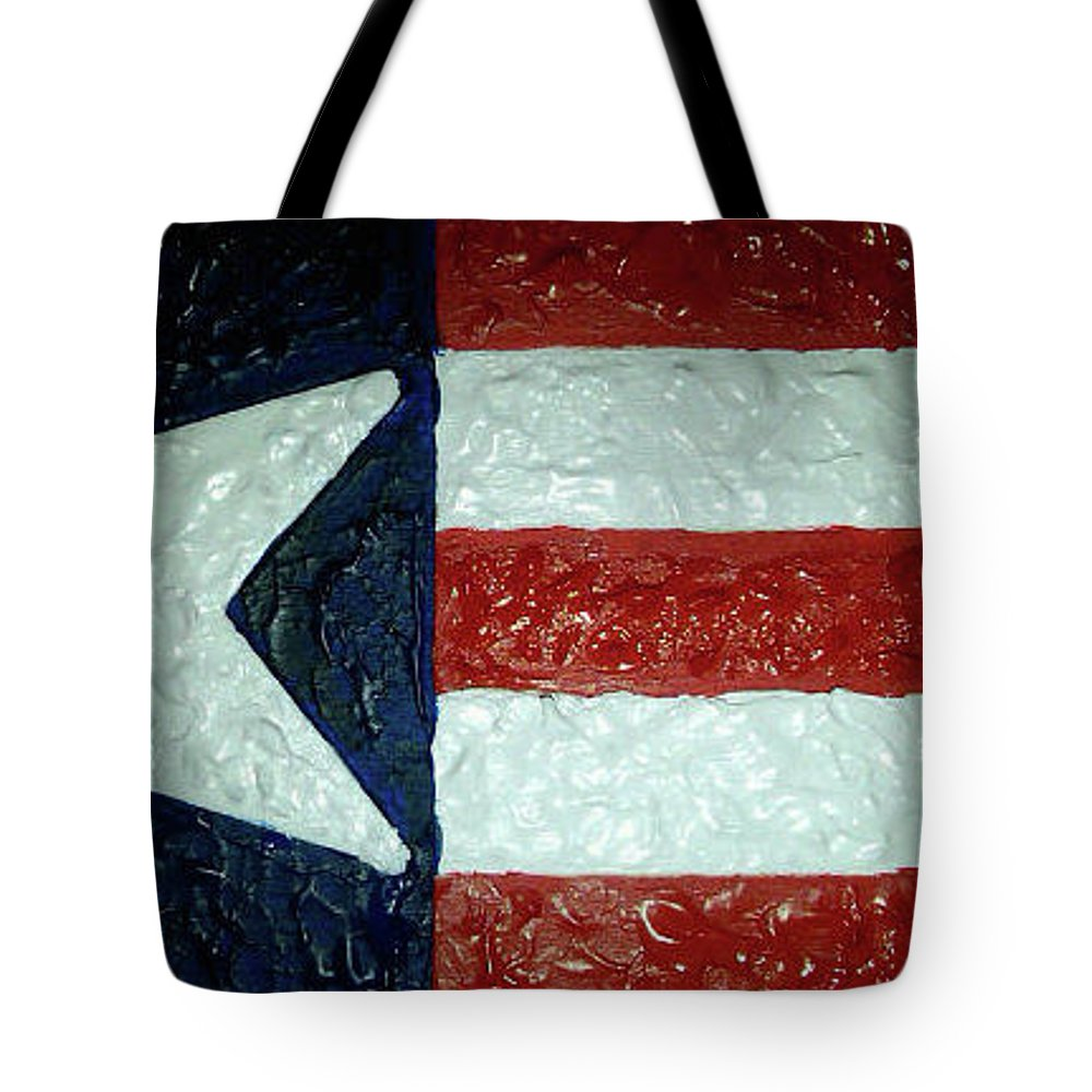 Texas Tote Bag featuring the painting Lone Star State by Daniel Donnelly