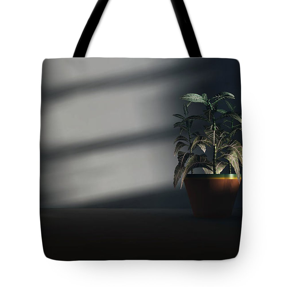 Mood Tote Bag featuring the digital art Loneliness by Richard Rizzo