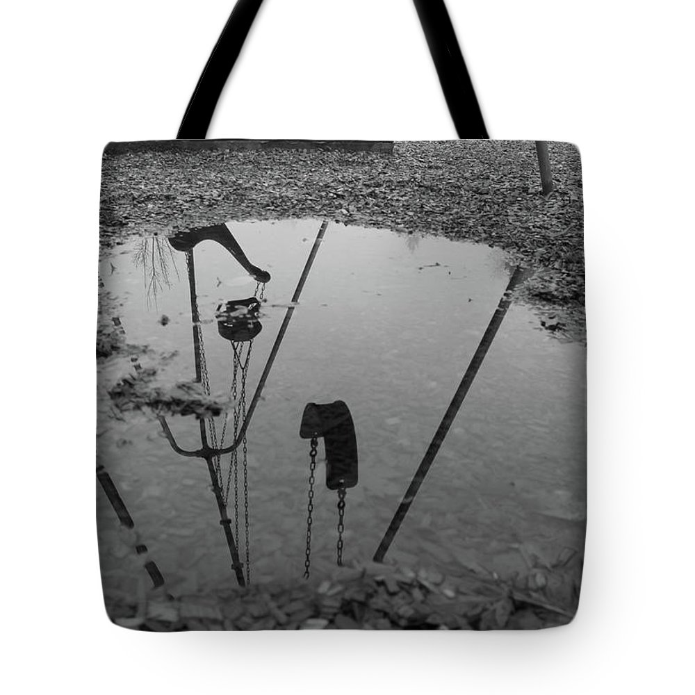 Outdoors Tote Bag featuring the photograph Lonely Days by Images By Paige