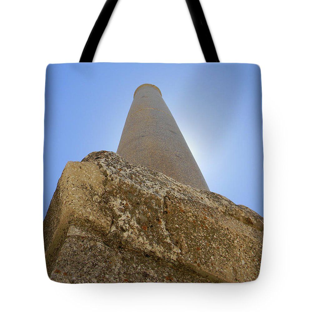 Marwan George Khoury Tote Bag featuring the photograph Lonely In Heliopolis by Marwan George Khoury