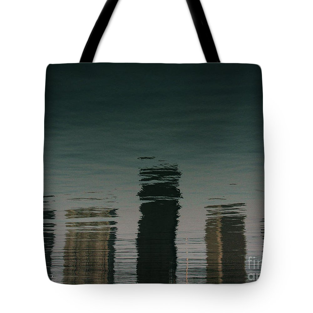 Lake Tote Bag featuring the photograph Lonely Soul by Dana DiPasquale