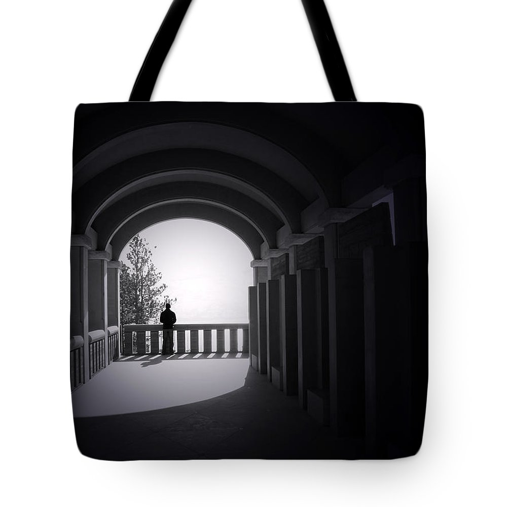 Building Tote Bag featuring the photograph Longing by Tara Turner