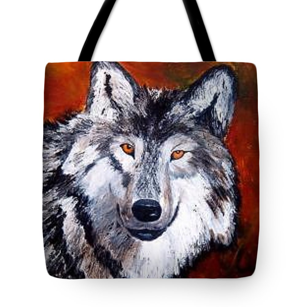 Palette Knife Tote Bag featuring the painting Look Into My Eyes by Tami Booher