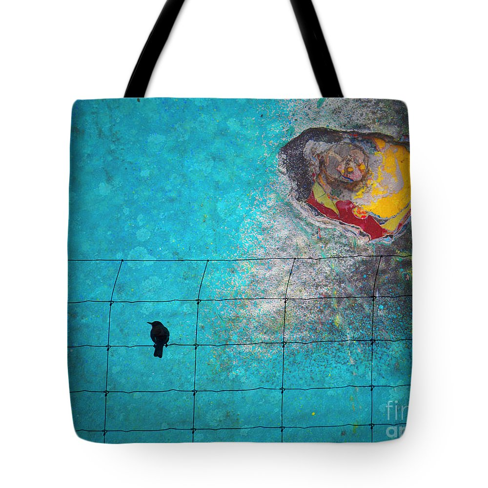Wall Tote Bag featuring the photograph Look The Other Way by Tara Turner