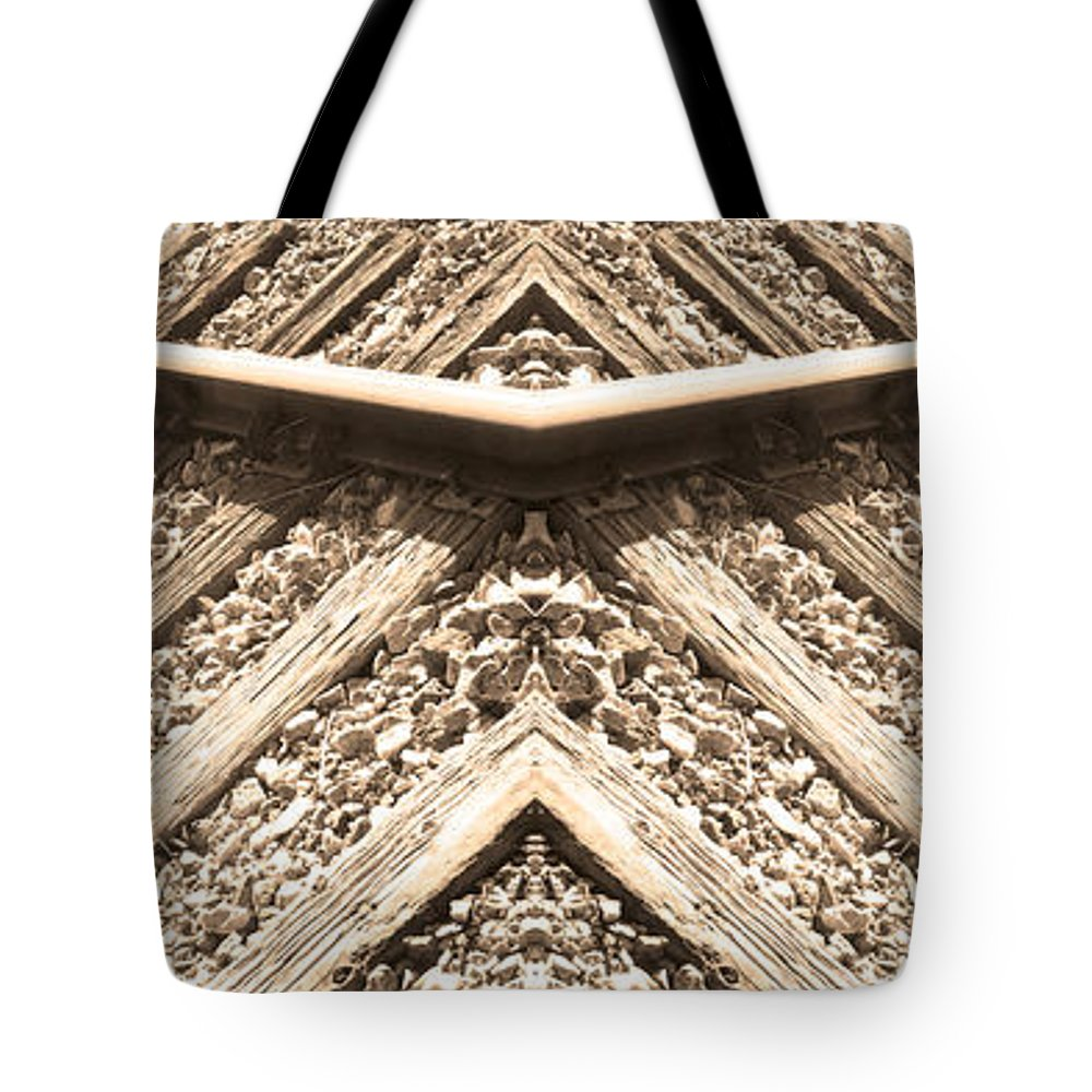 Traintracks Tote Bag featuring the photograph Looking Both Ways Down The Train Tracks by James BO Insogna