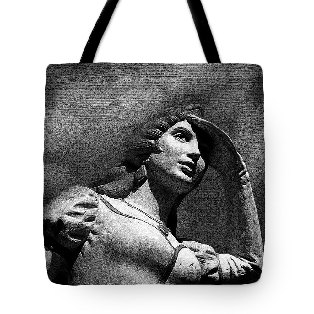 Love Tote Bag featuring the painting Looking For Love by David Lee Thompson