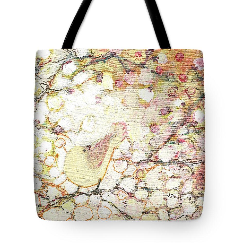 Cherry Trees Tote Bags