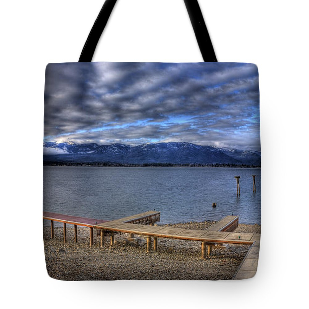Landscape Tote Bag featuring the photograph Looking North From 41 South 2 by Lee Santa
