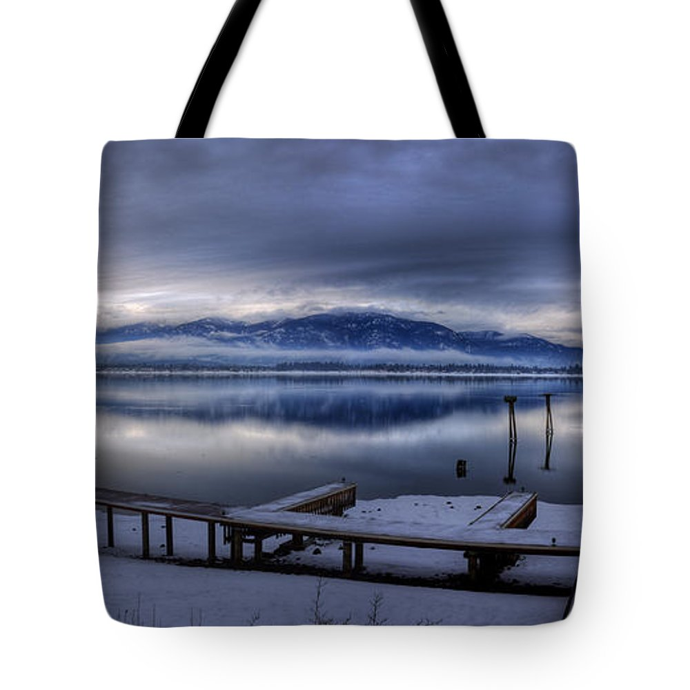 Landscape Tote Bag featuring the photograph Looking North From 41 South by Lee Santa