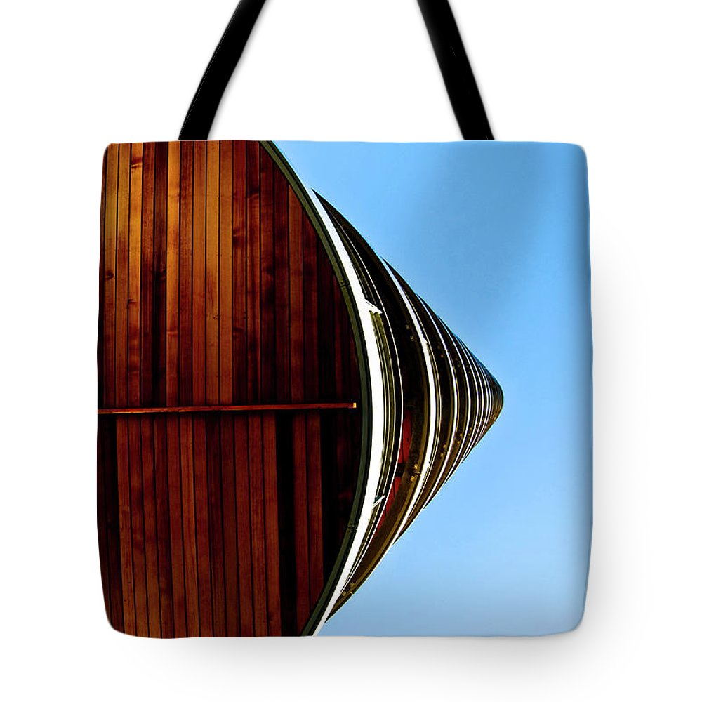 Portsmouth Tote Bag featuring the photograph Looking Up I by Grebo Gray