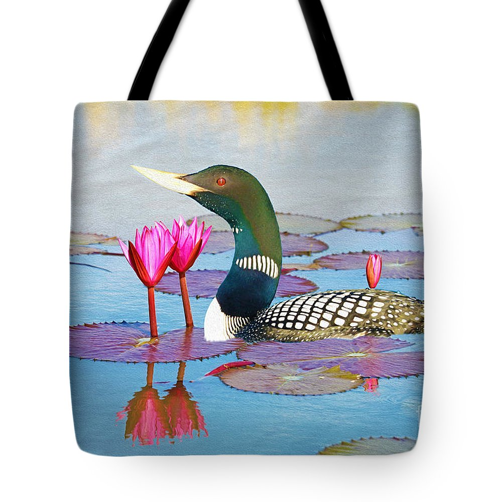 Loon Photographs Tote Bags