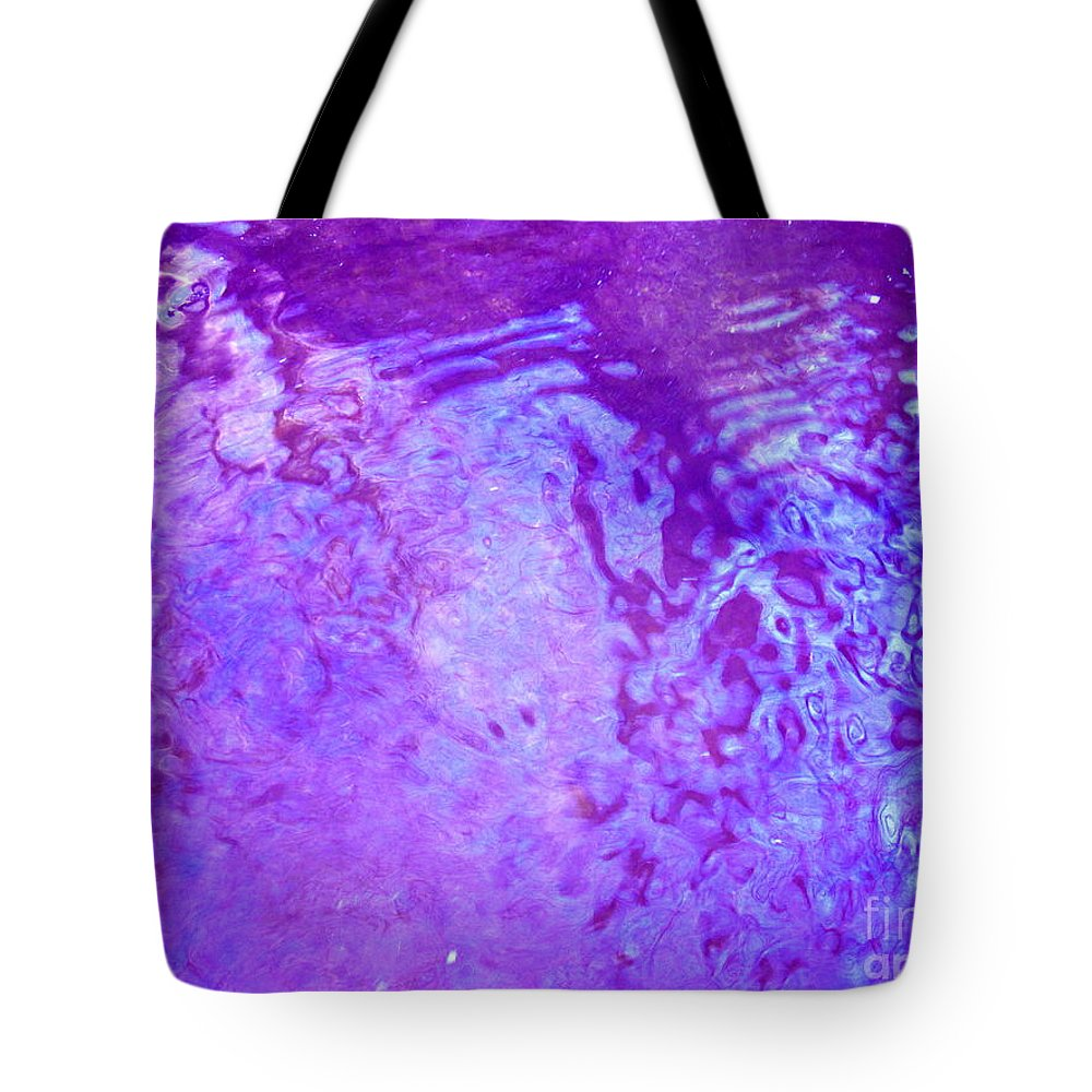 Abstract Tote Bag featuring the photograph Lost - In The In-between by Sybil Staples